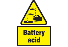 Battery Acid Sign
